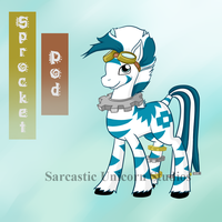 Ponysona: Sprocket Pod by SarcasticUnicorn