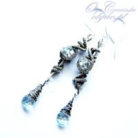 Blue Sky Earrings by OlgaC