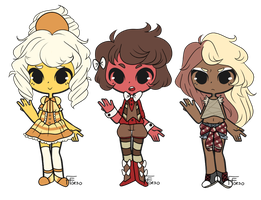 Adoptables Set: 1 (CLOSED) by FrenchFriedOreo