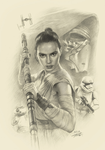 Star Wars: The Force Awakens by yinyuming