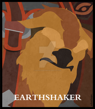 Earthshaker - DOTA 2 - #1 by ArtRookDesigns