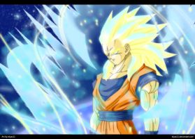 Super Saiyan God 2 by Elyas11