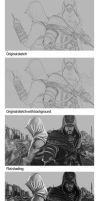 Assassin's Creed W.I.P by Hax09