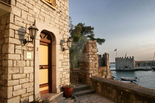 nafpaktos port by AndreasStavropoulos