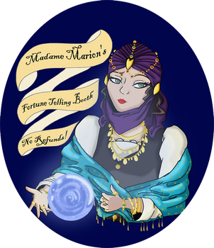 Madame Marion's Fortune Telling Booth by Jenchi-Saru
