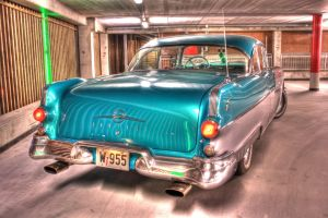 Oldies-Goldies Pontiac HDR by evrengunturkun
