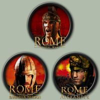 Rome: Total War Icons by kodiak-caine