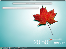 My Xfce Desktop September 2011 by ymnoorani