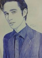 Drawing Joseph Gordon-Levitt by Vick1234