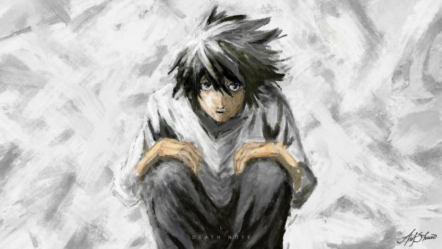 Deathnote L by asifshuvo