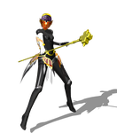 .:MMD:.  Metis AND her staff/hammer thing by Miku-Nyan02