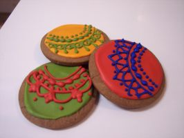 Christmas Ornament Cookies by eckabeck