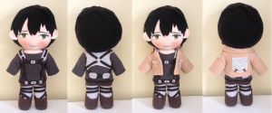 (Commission)Attack on titan Bertolt Hoover plush by Harukuma