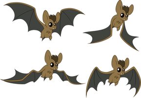 Happy Bats by SilverVectors