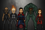 Avengers of the Supernatural (Marvel Earth-61619) by LoganWaynee