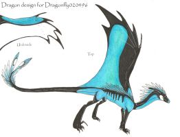 Dragon design by Rachelance