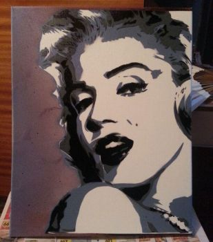 Marilyn-monroe by AFN-yaro