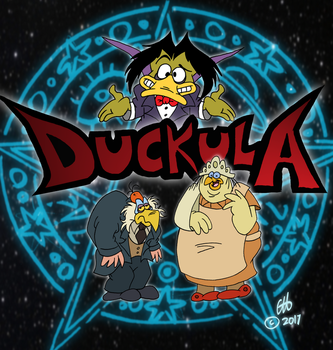 Duckula Craves The Blood Of The Innocent by Chopfe