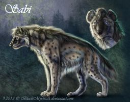 Sabi charactersheet by BlackMysticA