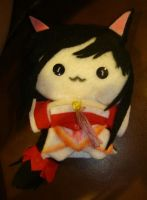 Ahri the Nine-Tailed Fox(LoL) Plushie by Hanyuu58