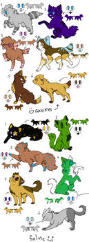 adoptables-1 by halo55014