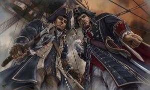 Connor/Haytham - Any last words? by KejaBlank