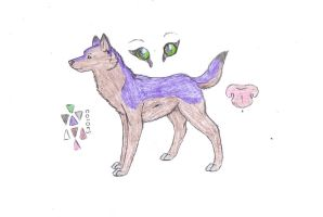 Renah Refrence Sheet .canine. by groverismypuppy