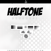 Halftone Brushes by Innuend