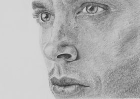 Jensen Ackles -Supernatural's Dean- by clamia