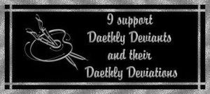 I Support Daethly Deviants B by MistRaven