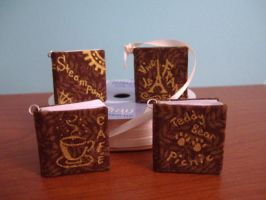 Mini Books - 1 inch tall by alternativeicandy
