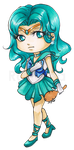 Chibi Sailor Neptune by Ranefea