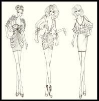 Fashion Design Dresses 3 by TwISHH