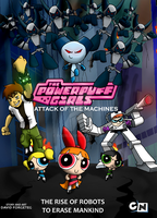 The Powerpuff Girls - Attack of The Machines by foeri