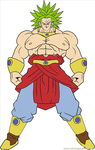 Broly by Zanny-Marie