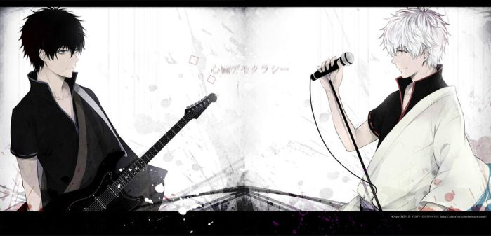 Gintama---Black and White by zxs1103