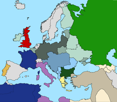 Europe after the Treaty of Potsdam 1919 by tsd715