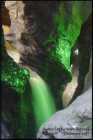 Green Falls in Switzerland by AndySerrano