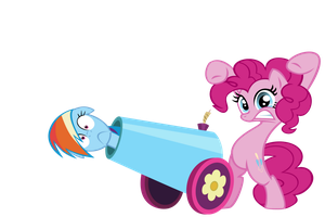 Pinkie's Party Cannon by Stratolicious