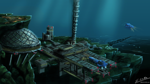 Pacific Offshore Research Station 01: Proteus by Esuka