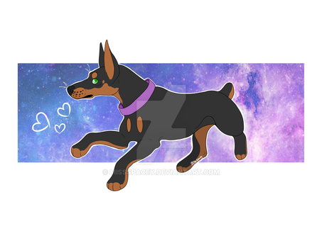 Space Pup by MissSpacey