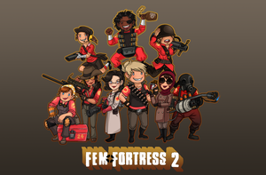 FEM FORTRESS :D by Mouseleaf