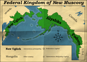 Federal Kingdom of New Muscovy by IntrepidTee