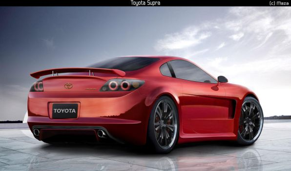Toyota Supra factory version by M-a-z-a