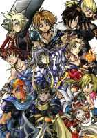 Final Fantasy Dissidia by VincentStrider