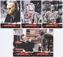 Hammer Horror Monsters by tdastick