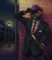 Commission - See you tonight by Torheit-die-Katze