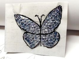 saphirs butterfly 2 by Debals
