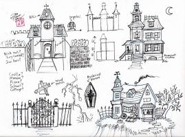 Draw a Haunted House by Diana-Huang