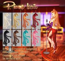 Pinup Hair #1 by Trisste-stocks